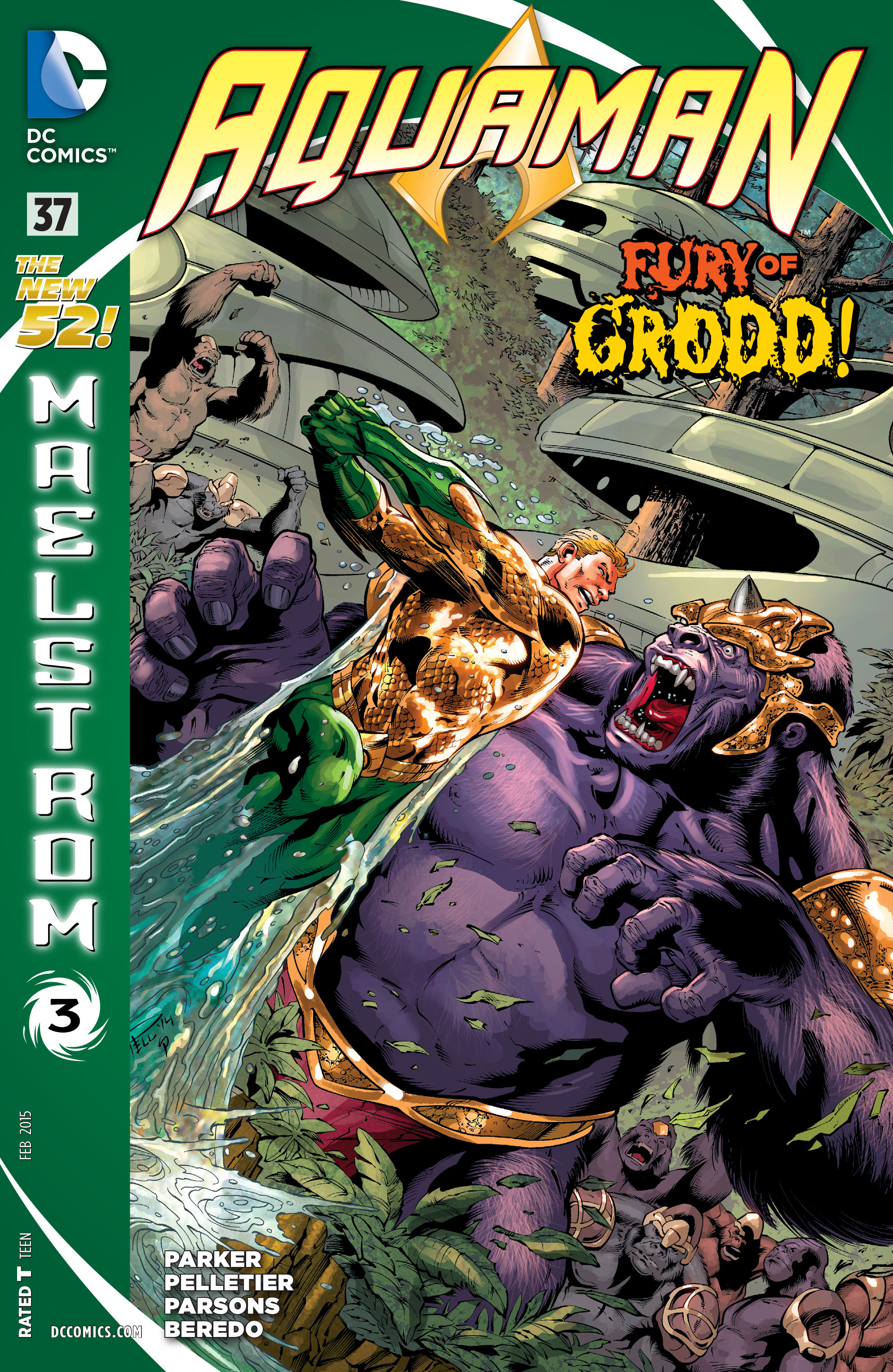 Read online Aquaman (2011) comic -  Issue #37 - 1