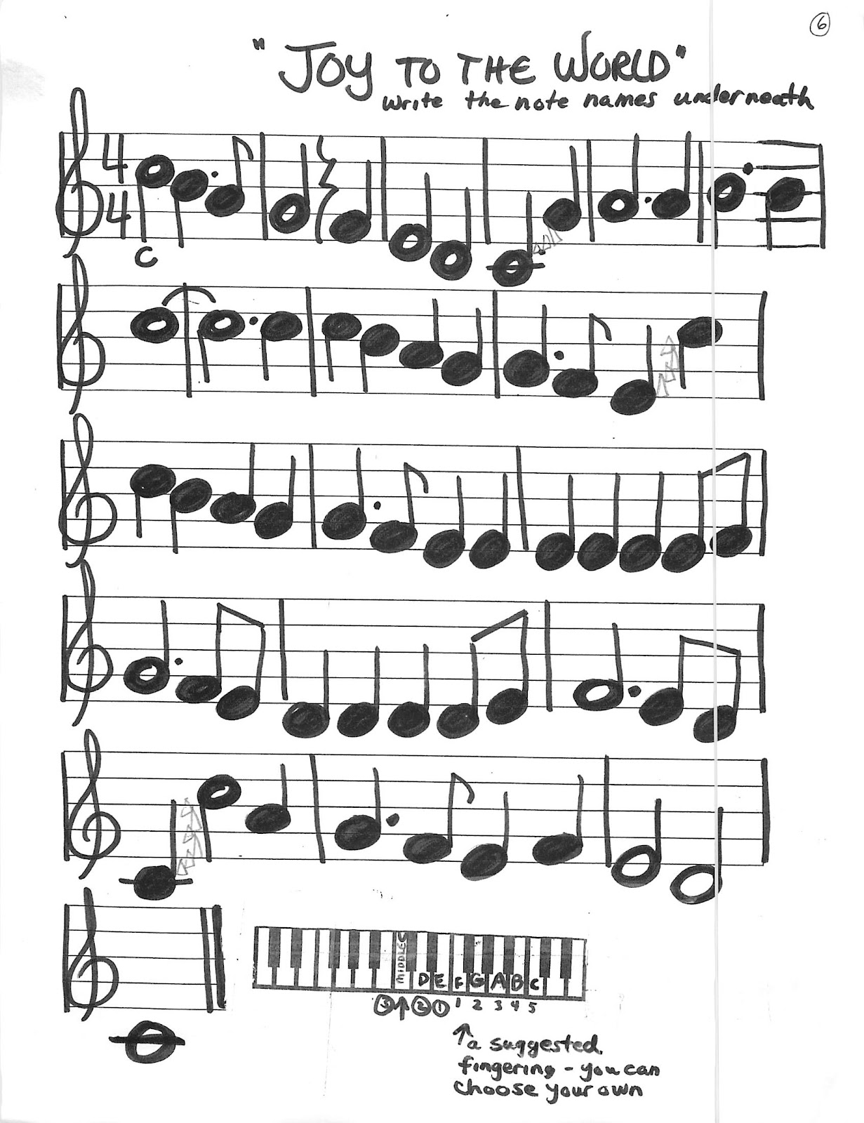 Miss Jacobson S Music Holiday Recorder Keyboard Songs