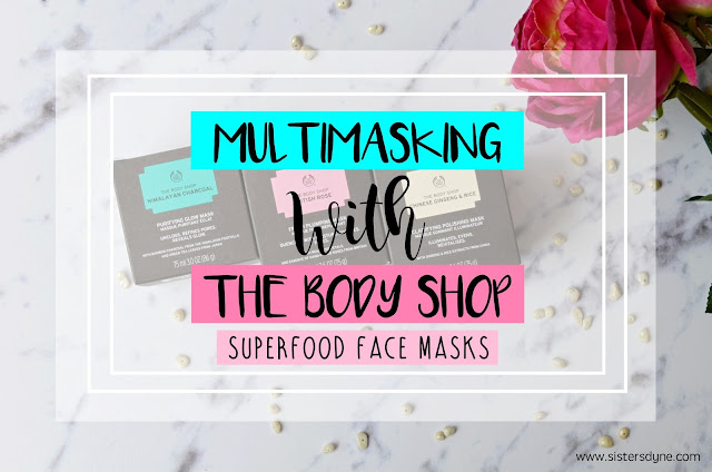 Superfood face mask the body shop