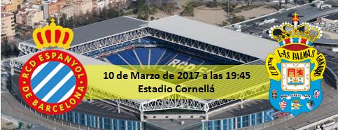 Previa RCD Español - UD Las Palmas 10 Marzo 19:45