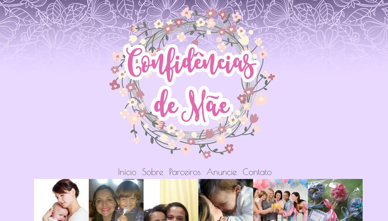 blogs que eu adoro; blogs que eu indico; blog confidências de mãe