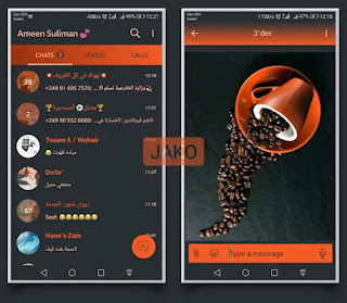 Coffee Theme For YOWhatsApp & Fouad WhatsApp By Jako