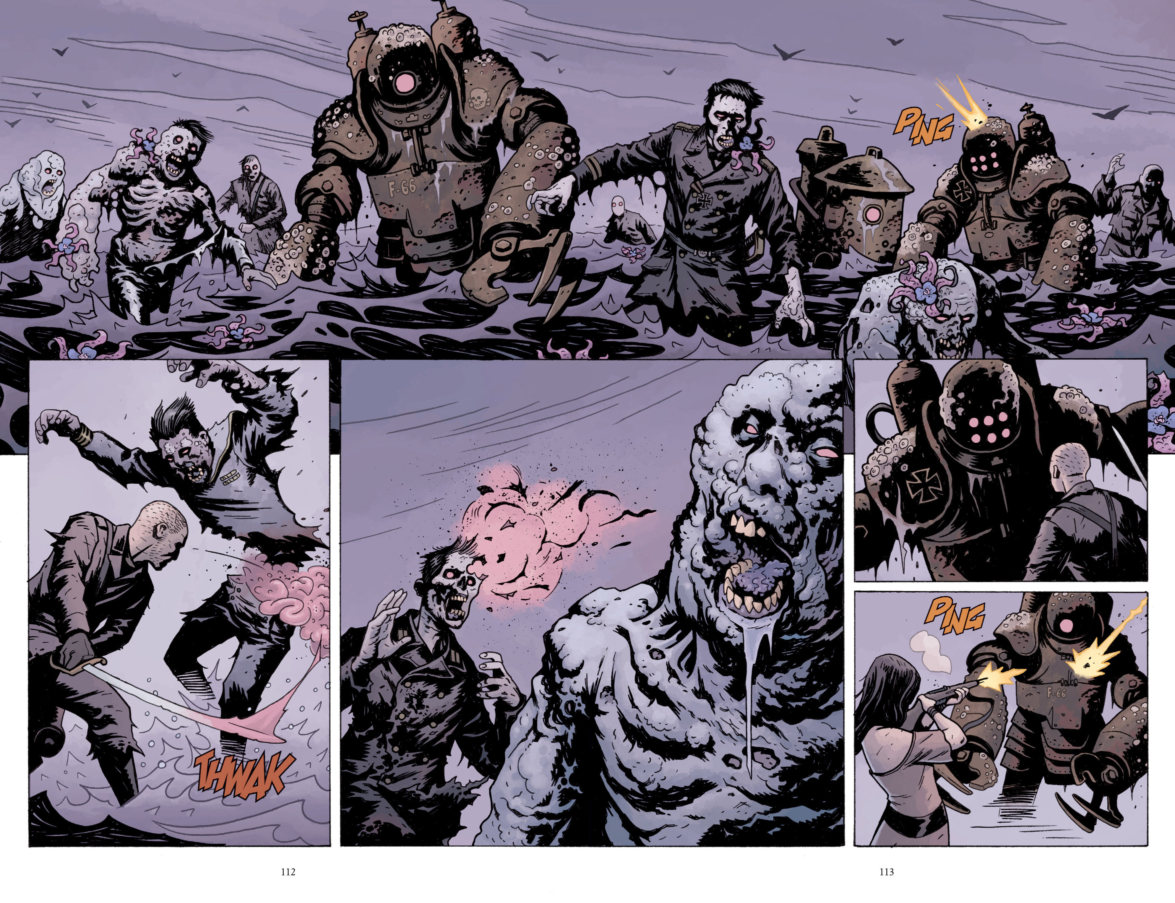 Read online Baltimore: The Plague Ships comic -  Issue # TPB - 112