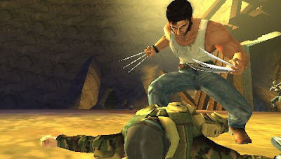 X-Men Origins: Wolverine PPSSPP iso Download for Android