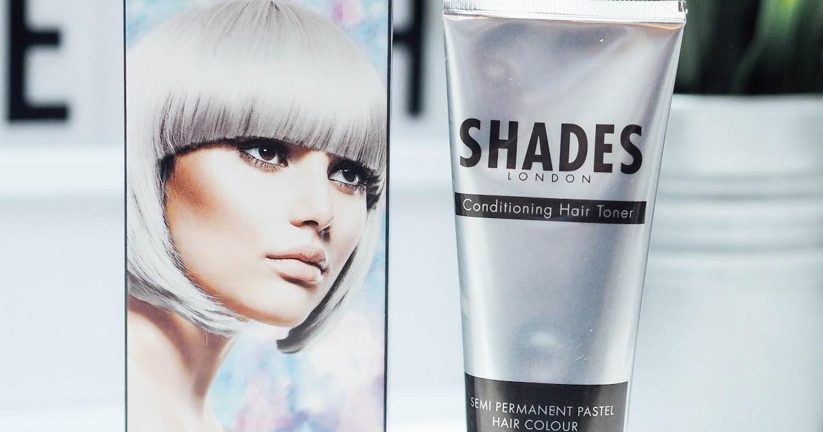 Shades London Silver Lining Hair Toner Being Ashleigh Fashion