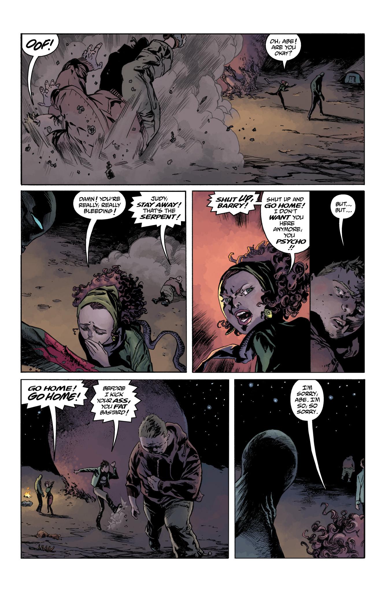 Read online Abe Sapien comic -  Issue #4 - 22