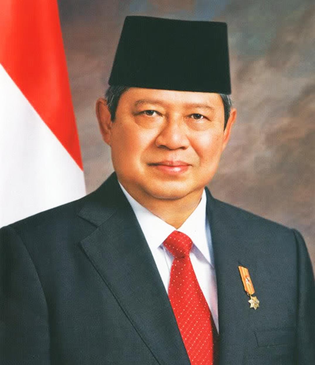Presiden Susilo Bambang Yudhoyono berwarna