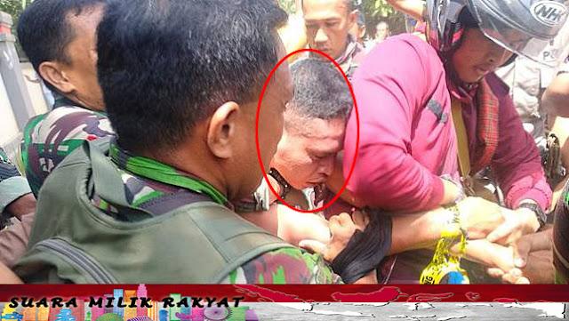Pelaku Dibawa ke Markas TNI