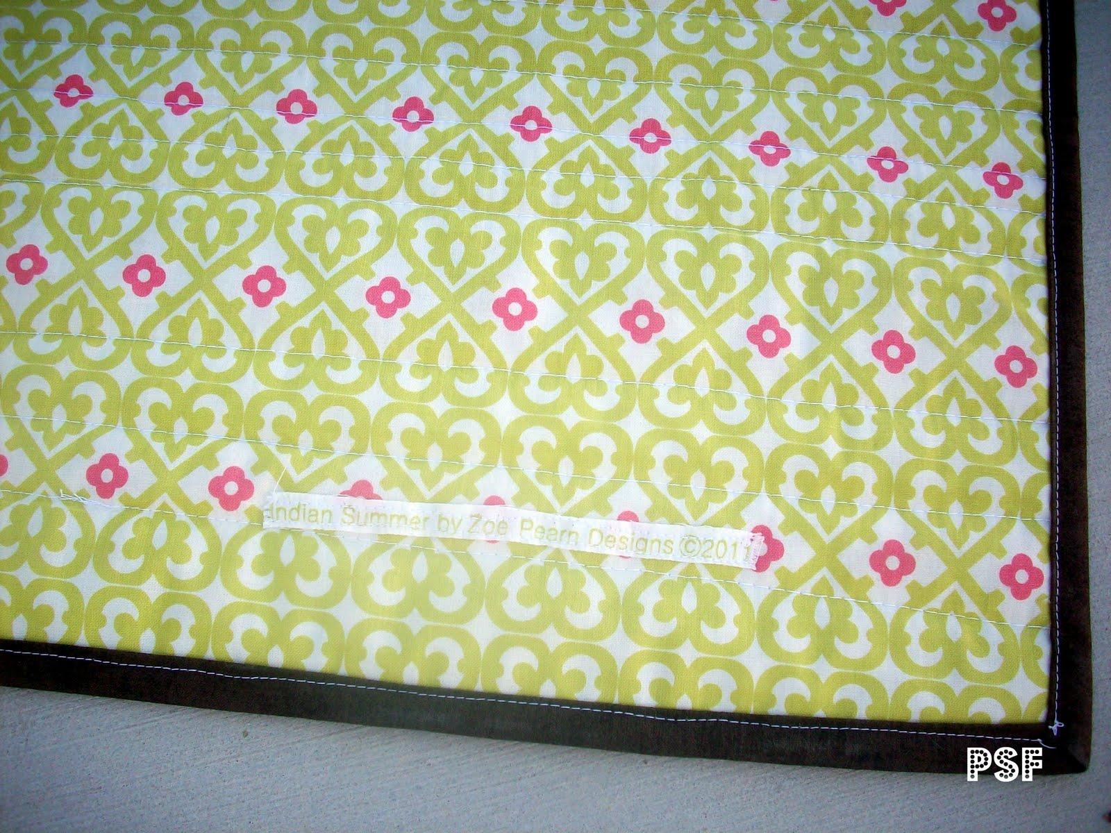 Poppyseed Fabrics Indian Summer Quilt Kit