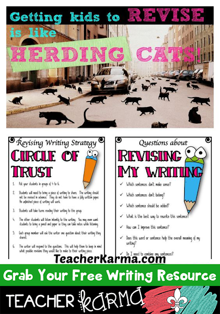 FREE Writing Strategy and Checklist to Improve Writing Skills - TeacherKarma.com