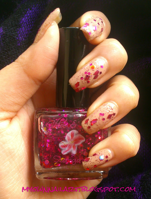 Chloe and Bella stargazer Nail Swatch and Review
