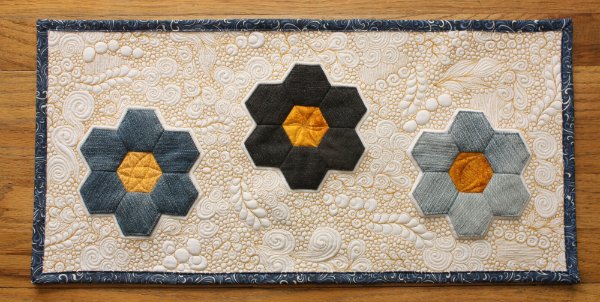 Free Motion Flow Quilting | DevotedQuilter.blogspot.com