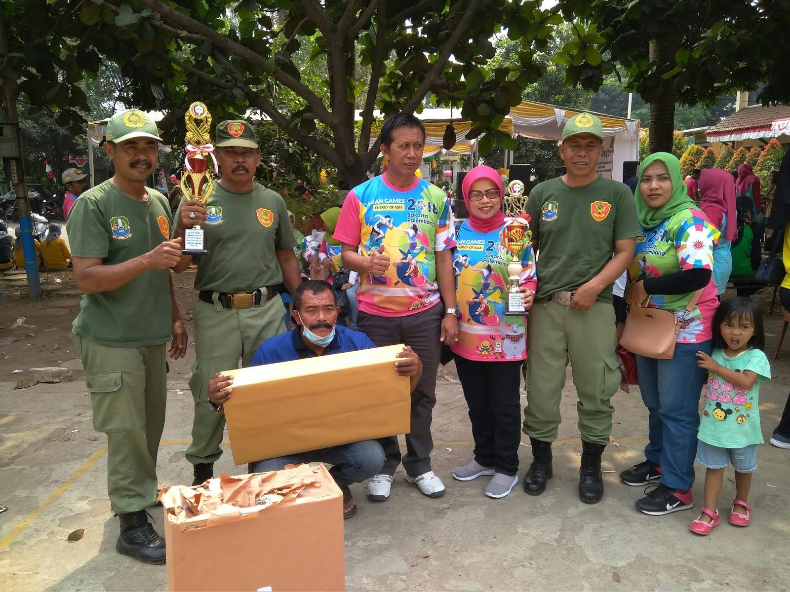 Lomba HUT RI Ke 73 Tahun Pegawai Sepanjang Jaya Borong