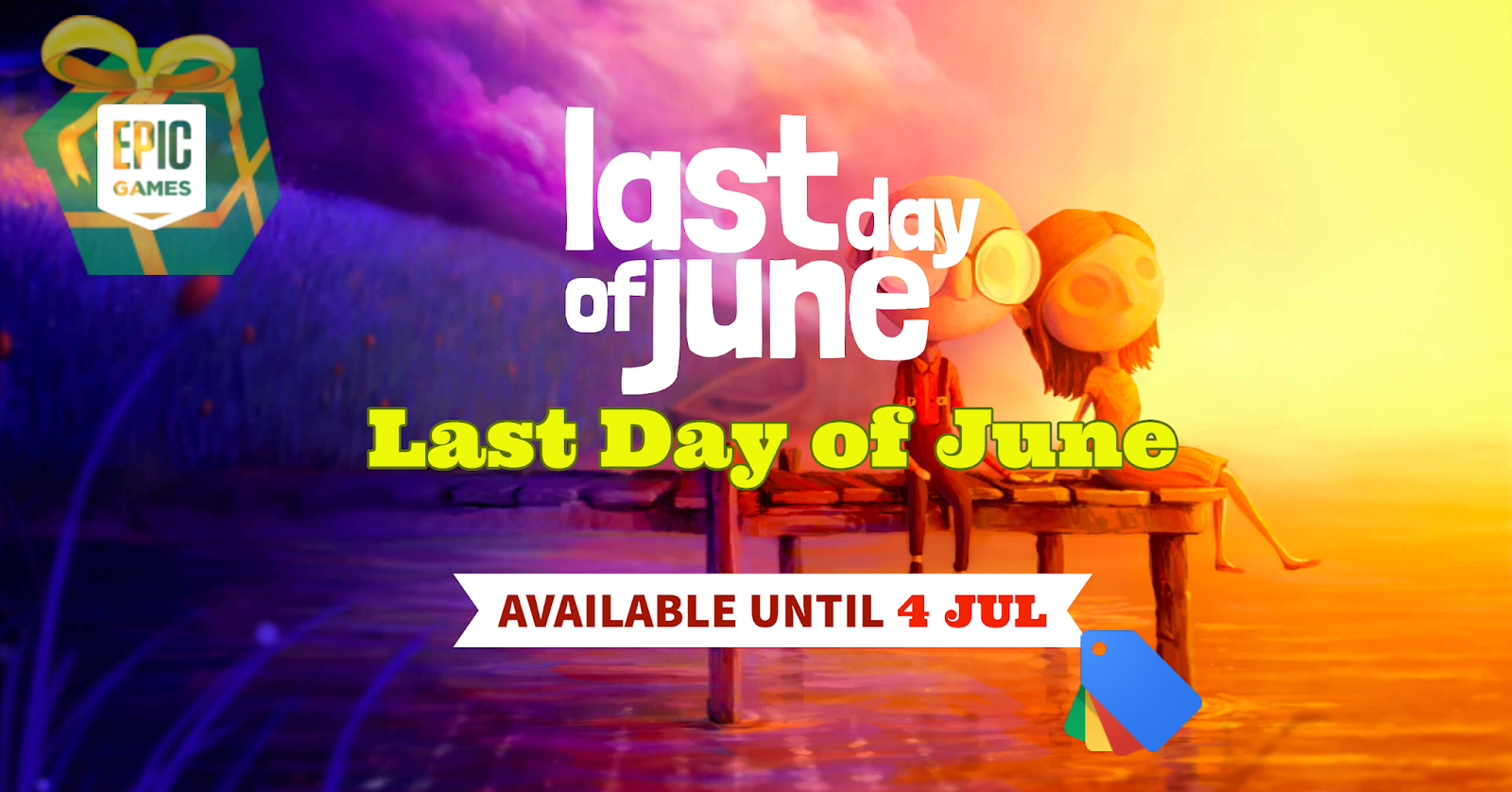Giveaway: Last Day of June Available for Free – Until Jul 4