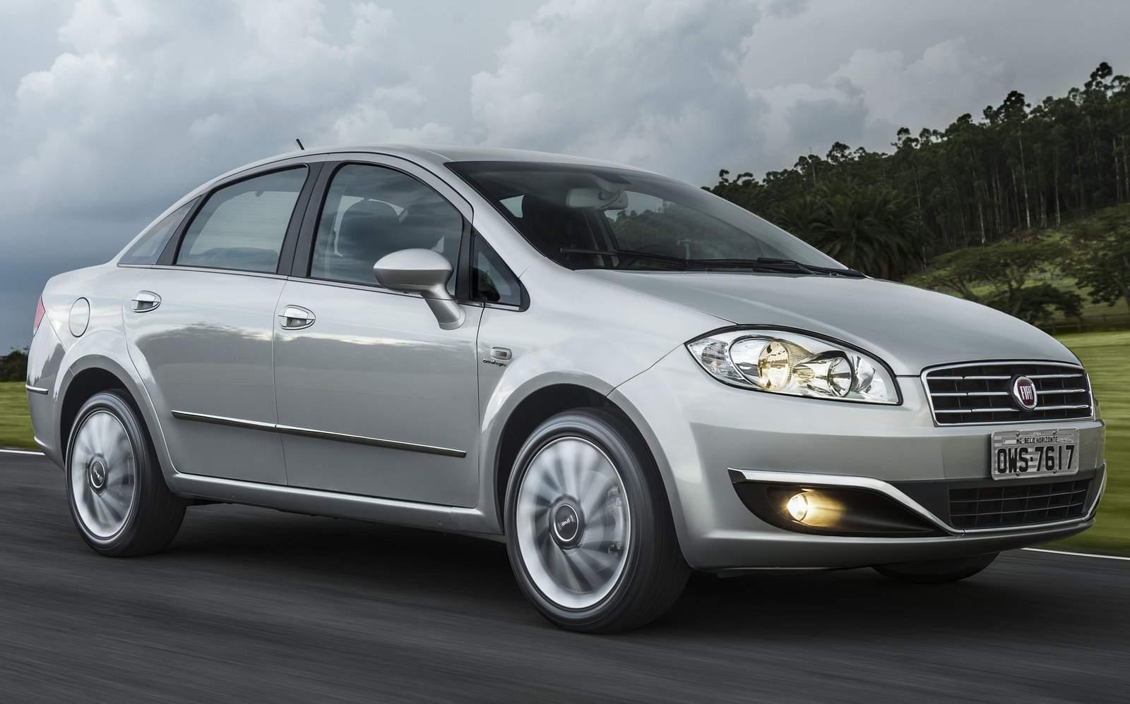Fiat Linea 2016 - leilão
