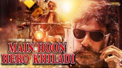 Main Hoon Hero Khiladi 2018 Hindi Dubbed Full Movie Download