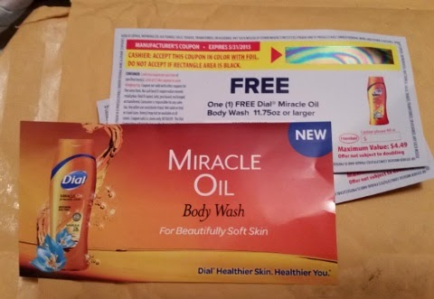 dial miracle oil marsula oil body wash coupons