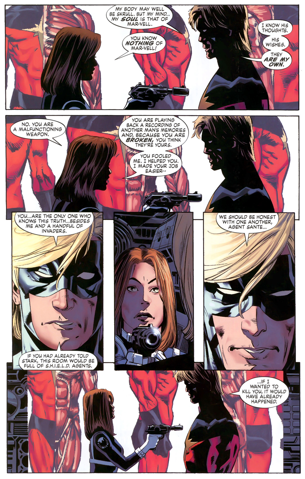 Read online Secret Invasion: The Infiltration comic -  Issue #6 - 14