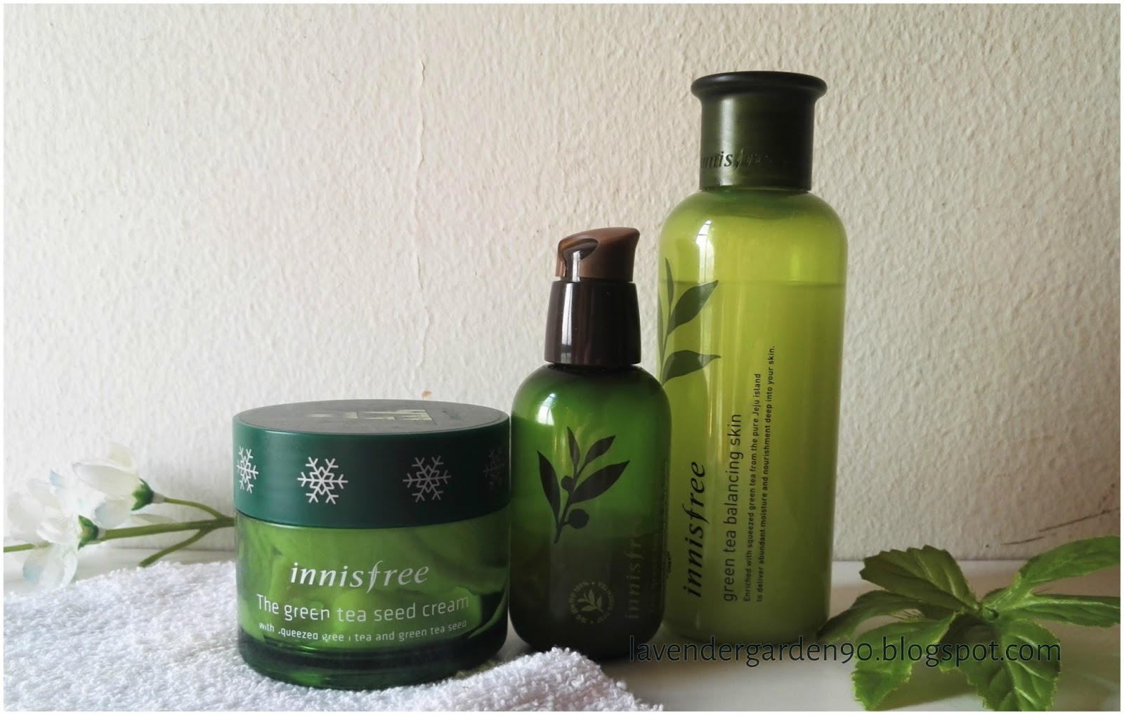 a4bf30b44d2 Carolyn s Lavender Garden  Review  Innisfree The Green Tea Seed ...