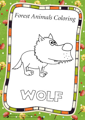 wolf coloring