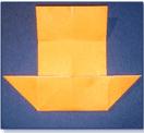 Langkah - langkah dalam Origami Perahu Kembar