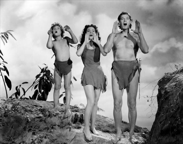 Filme Tarzan anos 30, Jane (Maureen O´Sullivan) figurino
