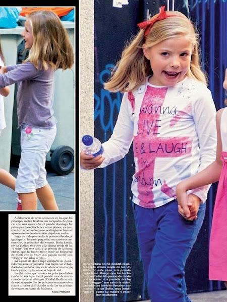 Crown Prince Felipe and Crown Princess Letizia, Princess Leonor and Princess Sofia went to cinema