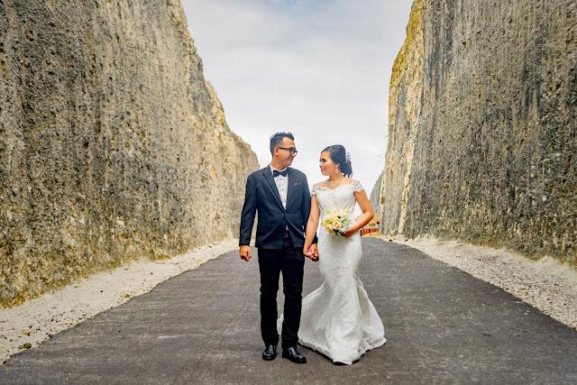 Foto prewedding lokasi jakarta malang bali medan surabaya bandung paket rias make up gaun bridal lengkap