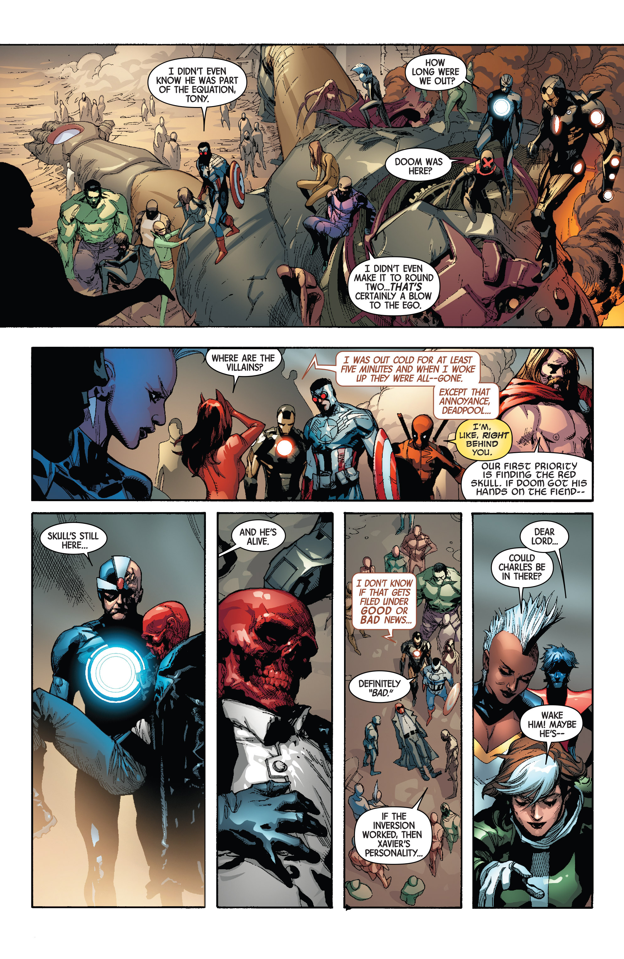 Read online Avengers & X-Men: AXIS comic -  Issue #3 - 21
