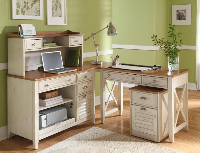 best buying white cottage office furniture for sale