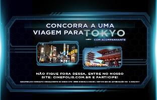 Promoção Concorrer Viagem Para Tóquio Cinépolis 2017