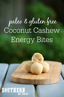 Coconut Cashew Cookie Dough Bliss Balls Recipe