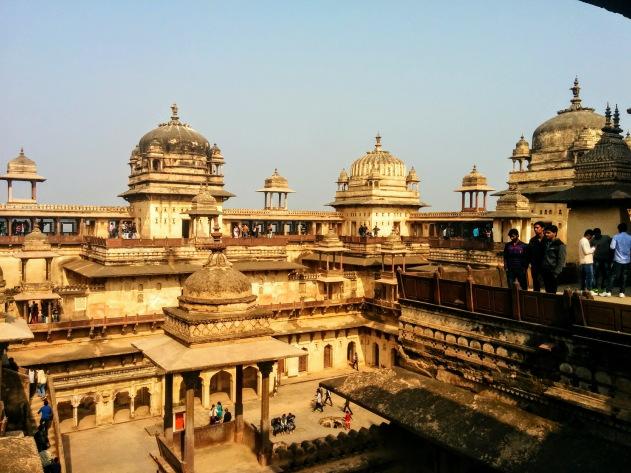 Jehangir Mahal, Orchha, Madhya Pradesh