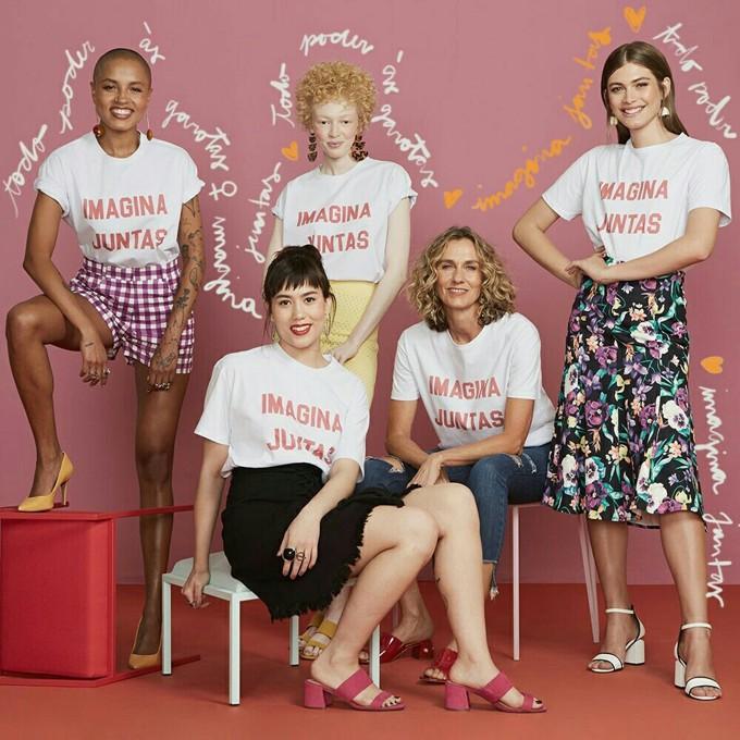 Como usar camiseta feminista e ser solidária