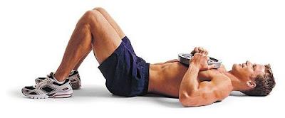 ejercicios abdominales con disco
