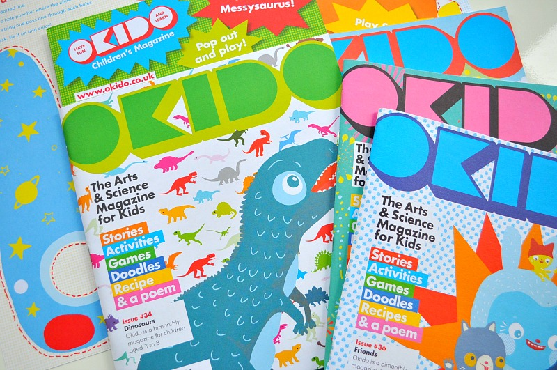 magazine subscription for kids with Okido magazine