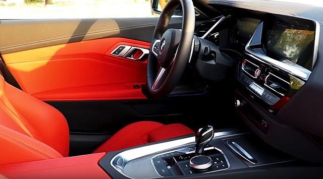 2020-BMW-Z4-sDrive30i-dashboard-interior