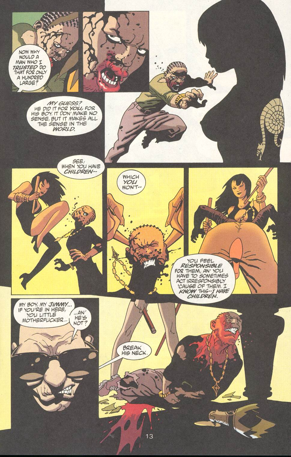 Read online 100 Bullets comic -  Issue #18 - 15