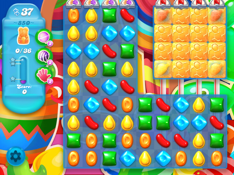 Candy Crush Soda Saga 850