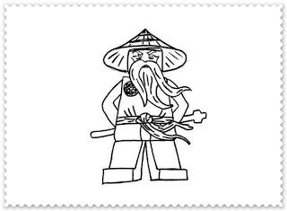 ausmalbilder zum ausdrucken: ninjago ausmalbilder