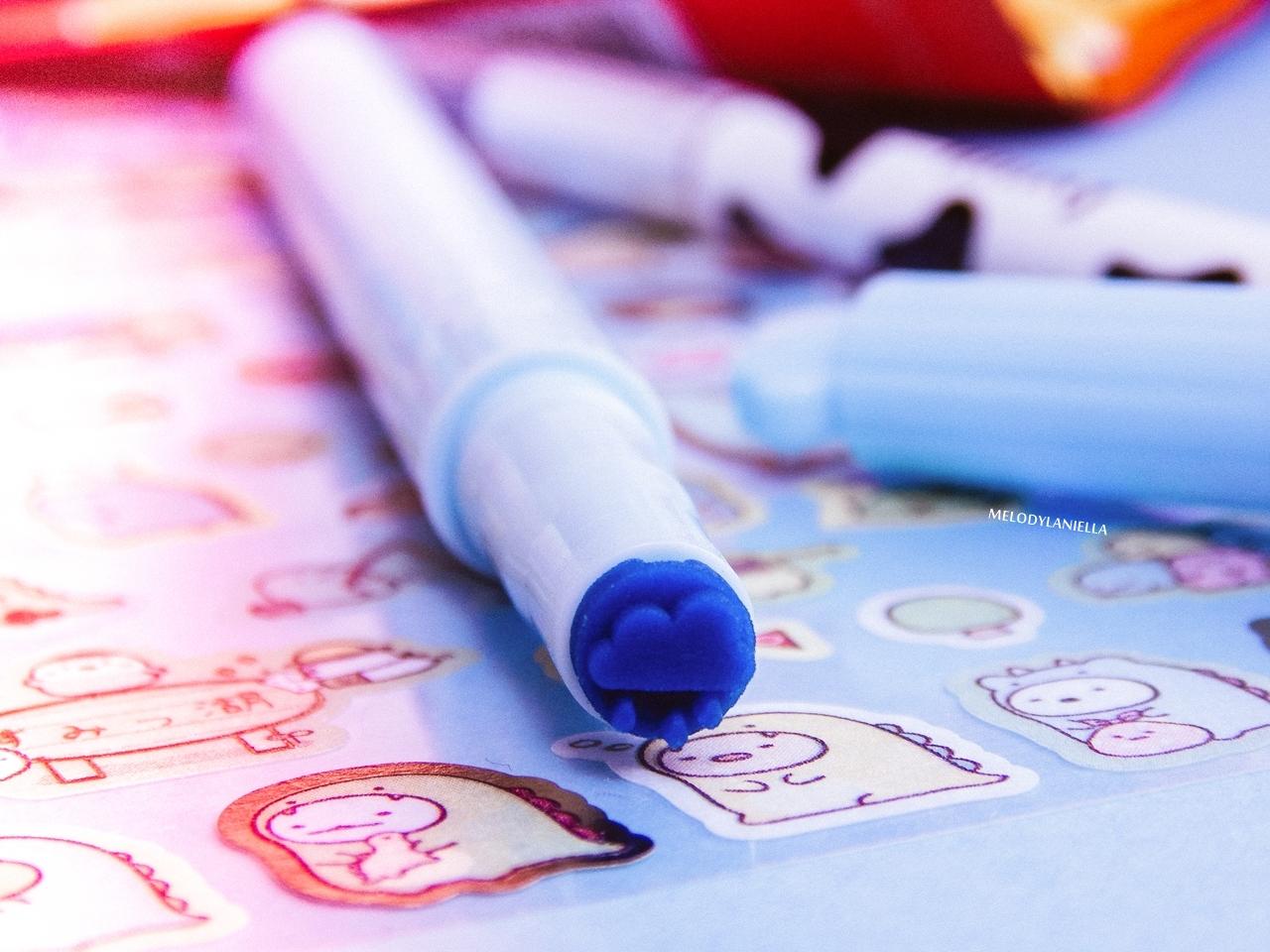 3 kawaii box august sierpień rewiev recenzja giveaway konkurs rozdanie gadżety z japonii kolorowe dodatki słodycze z japonii fajne długopisy, butelka na wodę my melody melodylaniella pudding tofu brelok