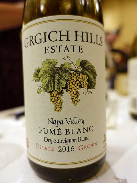 Grgich Hills Fumé Blanc Dry Sauvignon Blanc 2015 (91 pts)