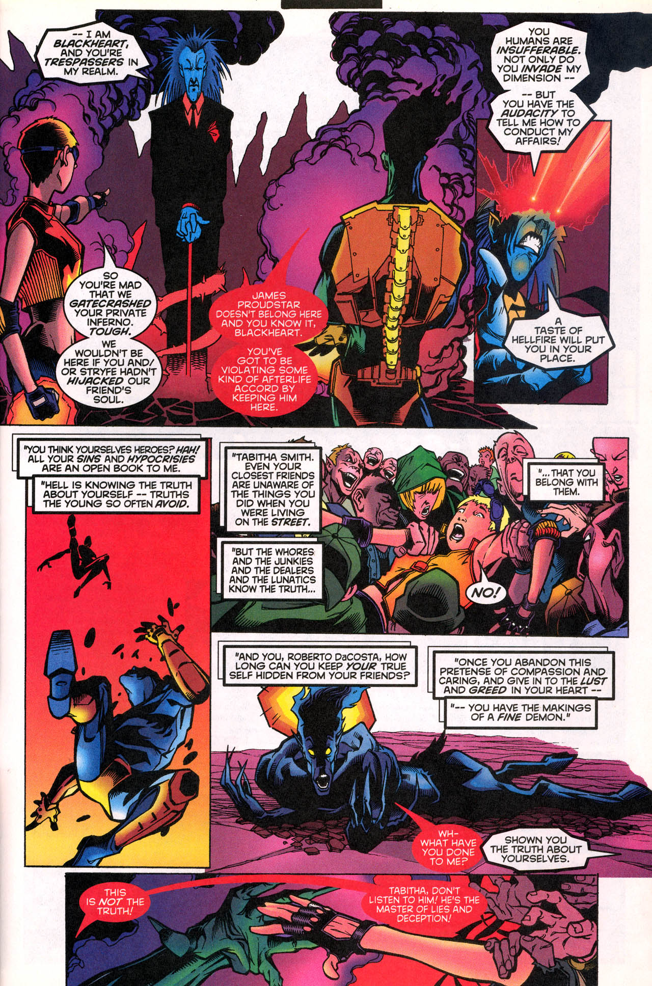 Read online X-Force (1991) comic -  Issue #74 - 25
