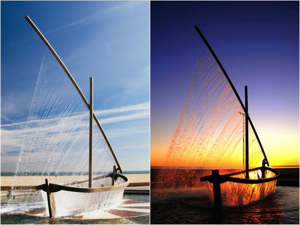 18 Amazing Fountains From All Over The World That Are Real Works Of Art - Water Boat Fountain in Valencia, Spain