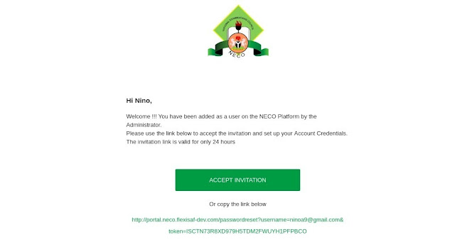 NECO 2020 June/July (SSCE) Internal Registration Form | How to Apply