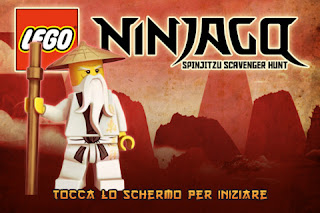 LEGO Ninjago Spinjitzu Scavenger Hunt per iPhone e iPad