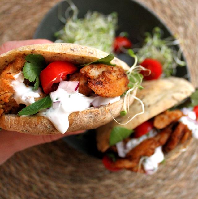 Oppskrift LikeMeat Chicken Style Chunks Vegansk Kylling
