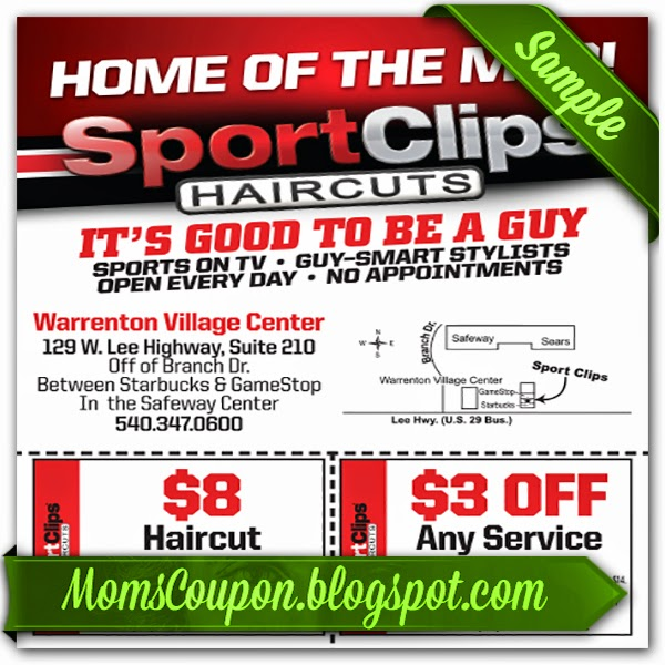 Get Sport Clips Coupons 2015 25 OFF MVP Free