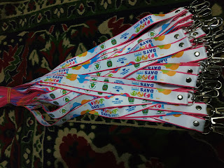 Supplier tali lanyard digital printing full colour