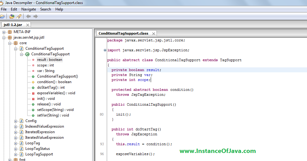 How to get java source files from jar file - InstanceOfJava